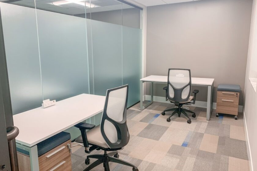 What is virtual office space: